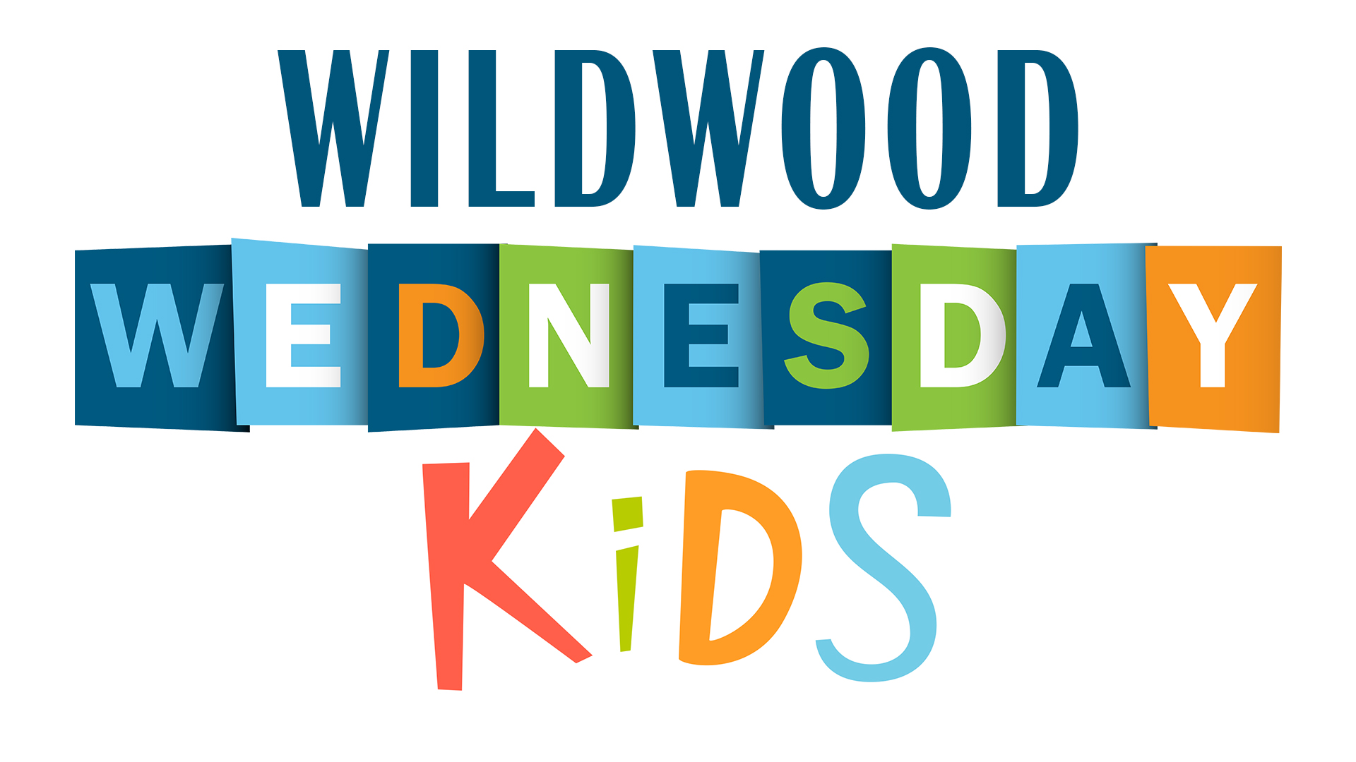 Wildwood wednesday kids logo